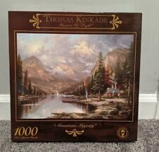 Thomas Kinkade Painter Of Light Mountain Majesty 1000 Pieces Puzzle Ages12&up