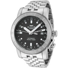 Glycine Men's 3954.101.MB Airman 42 Automatic GMT 42mm Gray Dial - GL0065