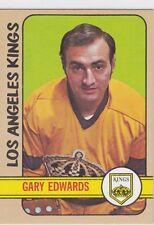 1972-73 TOPPS HOCKEY  GARY EDWARDS CARD #151