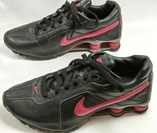 Nike Women's US Size 8 M Shox Conundrum 407989 004 Black Pink Good Condition