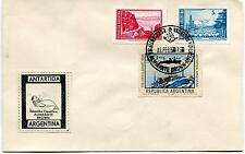 1972 Almirante Brown Antartida Argentina Polar Antarctic Cover