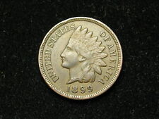 SUMMER SALE!!  XF  1899 INDIAN HEAD CENT PENNY w/ DIAMONDS & FULL LIBERTY #53s