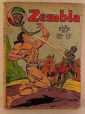 "mensuel bd petit format "" zembla spécial "" n°44  ed  LUG 1975"