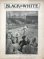 All England Tennis Club Championship Meeting: 1894 Black & White Magazine Print