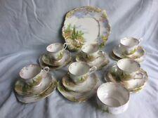 Royal Albert Kentish Rockery 20 pc Tea Set C1935