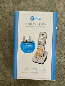 New Sealed AT&T Accessory Cordless Phone Handset Speakerphone W/ Call Waiting