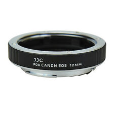 Automatic Macro Autofocus AF Spacer Rings 12mm for Canon EOS EF JJC Aet-c12