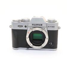 FUJIFILM X-T20 Silver -MINT-