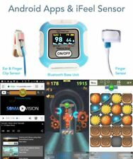 Student & Personal Biofeedback App Bluetooth System for Phones & Tablets