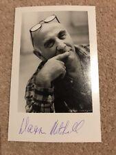Warren Mitchell Alf Garnett Till Death us do Part Signd Photo Autograph COA UACC