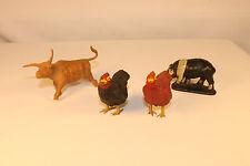 Lot of 4 Farm Animals