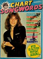 Leif Garrett on Chart Songwords Number 2 Magazine Cover 1979   Blondie  Bee Gees