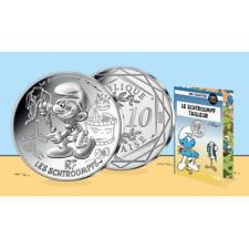 10 Euros Argent 2020 '' Collection Schtroumpf '' 9/20
