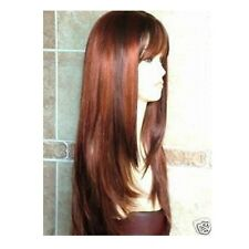 New Fashion Long Copper Red Brown Wig/Hair