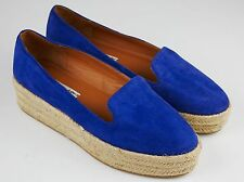 & Other Stories espadrilles Platform suede shoes Sz 38 scarpe scamosciato COS