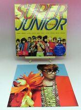 CD+DVD SUPER JUNIOR Mr. SIMPLE JAPAN Edition Photocard RyeoWook