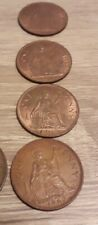Penny 1 pence 1p One Pence Coins 1962 to 1967 Elizabeth II
