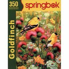 """Springbok Puzzles Goldfinch 350 Piece 2011 Jigsaw Puzzle 18"""" x 23.5"""""""