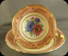 Paragon Pink Floral Cup and Saucer 2108