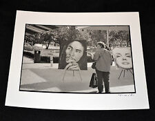 JOSE TONITO Fine Art B&W Vintage Photograph.Bob Marley.Marilyn Monroe.Bayside.