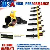 8Pcs Ignition Coils For 2004 2005 2006 2007-2008 Ford F-150 F-250 4.6/5.4L DG511