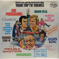 Geoff Love And His Orchestra - Your Top TV Themes LP 1972 UK Hawaii Five-O