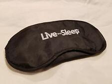Eye Mask Shade Cover Blindfold Night Sleeping Black New (2 pack)