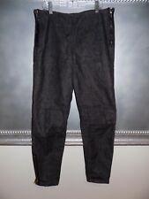 Evisu Japanese Denim Jeans Made in Italy Side Zip/Leg Zip Slim Jeans 30 WMN  EUC