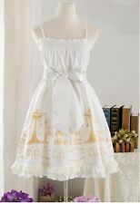 Cosplay Gothic Vintage Lolita Fairy Tale White Princess JSK Dress