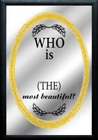 Who Is The Most Precioso ? Nostalgia Espejo de BAR Espejo BAR Espejo 22x32 CM