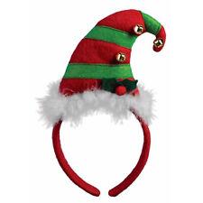 Elf Hat Adult Unisex Christmas Holiday Santas Helper Headband