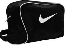 New Nike Brasilia Sports Shoe Bag Compact Black/White Zip Carry Handle