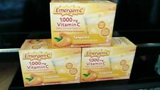 SEALED 90 Packets Emergen-C Daily Immune Support Vitamin C Packets Tangerine NEW
