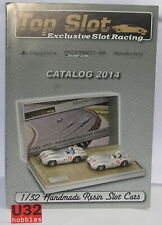 TOP SLOT CATALOGO SLOT CAR MERCEDES PEGASO PORSCHE  AÑO 2014 NUEVO 14  PAGINAS