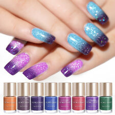 Thermal Nagel-lack Fine Glitzer Color-Changing Nail Art Varnish DIY NICOLE DIARY
