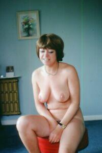 35mm SLIDE : NOT A GOOD IDEA!!!! TOPLESS GIRLFRIEND FROM 1980