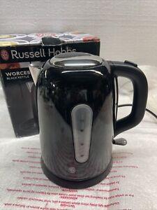 Russell Hobbs 25501 Stainless Steel Black Kettle
