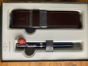 Parker Sonnet Blue Laque CT Fountain Pen - New