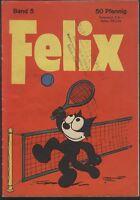 Felix Nr.5 von 1958 - Z1-2 Seltene BASTEI COMICHEFT RARITÄT