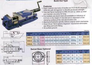 Hydraulikschraubstock Vertex VHO6 160 mm Backenbreite Maschinenschraubstock
