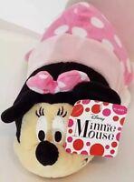 "Disney Flip A Zoo Mickey Mouse to Minnie Mouse Flipazoo 9"" Plush Stuffed Animal"
