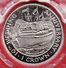 Gibraltar 1 Crown 1991 Schiff Royal Yacht Britannia