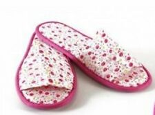 Stylish Ladies Floral Pink slippers By Glamour Essentials (UK Adult Size 3 - 4)