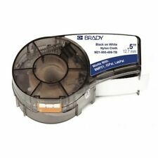 Brady M21 500 499 Tb Label Tape Cartridge Blackwhite Labelsroll Continuous