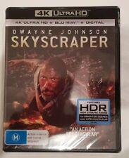 Skyscraper (4K Ultra HD + Blu-ray + Digital copy) Region B *BRAND NEW & SEALED*