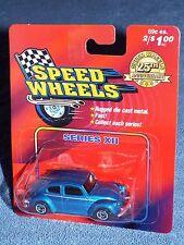 Speed Wheels Series XII w/ Maisto  Volkswagen Beetle 1300  Blue