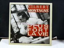 GILBERT MONTAGNE Plus fort la vie PB43917