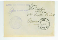 1948 Lipari Italy to Rome Displaced Person Camp DP Cover Lithuanian Stampless