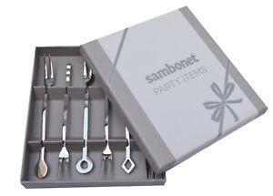 Sambonet Party Forchettine aperitivi 6 pezzi