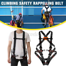 Climb Safety Belt Harness Rescue Rope Outdoor Aerial Work Construction Durable